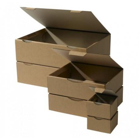 Boîtes postales brunes