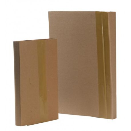 Etuis livres en carton sans bande adhésive