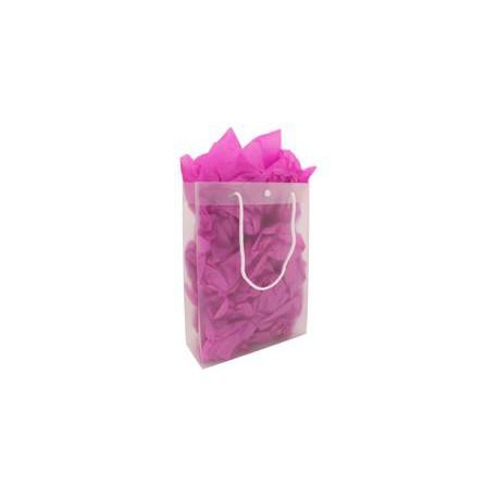 Sacs plastique à poignées coton