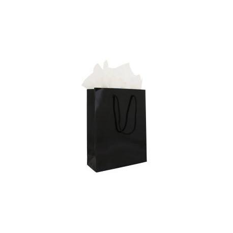 Sacs papier kraft pelliculé poignées coton